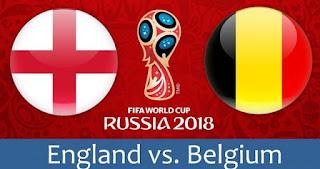 مشاهدة مباراة انجلترا وبلجيكا بث مباشر اليوم 14-7-2018 مباراة المركز الثالث كاس العالم