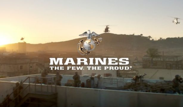 Marines seek young, tough recruits in Super Bowl ad
