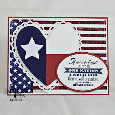 Our Daily Bread Designs Paper Collection: Stars and Stripes, Stamp Set: Justice For All, Custom Dies: Ovals Die, Stitched Ovals, Pierced Rectangles, Ornate Hearts, Sparkling Stars