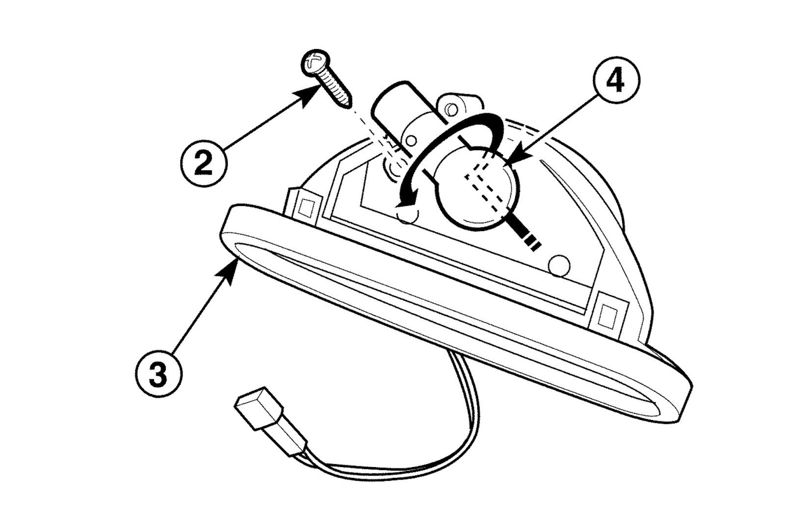 Chmsl mounting bracket