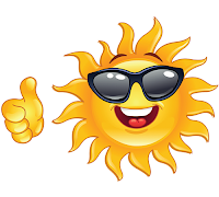 Smiling Sun Emoticon