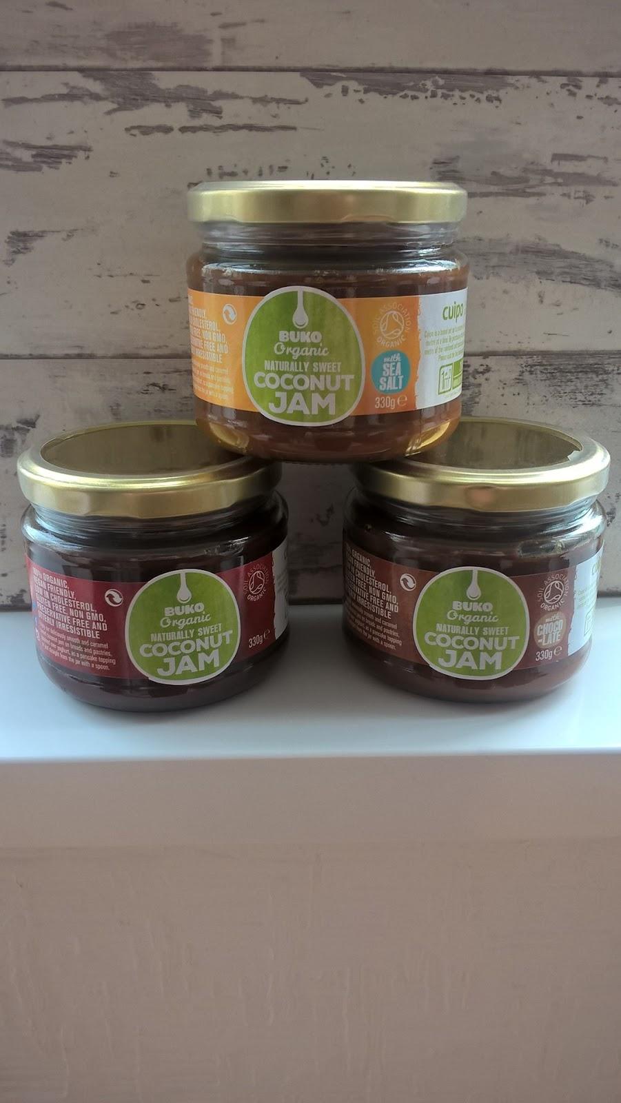 Buko Organic Coconut Jams - motherdistracted.co.uk