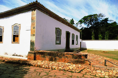 Casa Padre Toledo onde aconteceu a primeira reunião dos Inconfidentes