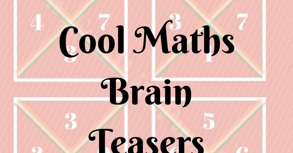 Beginning Cryptarithms Worksheet besides French Colors Crossword as well Word Fit additionally Ninjago Kindergarten Worksheets moreover Cool Maths Brain Teasers With Answers. on math crossword puzzles