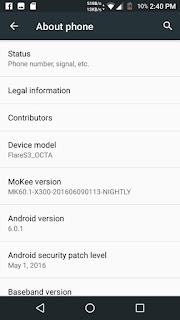 [ROM] Mokee OS MarshMallow For Cherry Mobile Flare s3 Octa. [MT6592] Screenshots