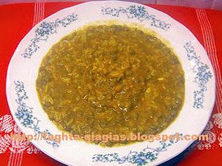 Φακόρυζο ή φακές με ρύζι σούπα - από «Τα φαγητά της γιαγιάς»