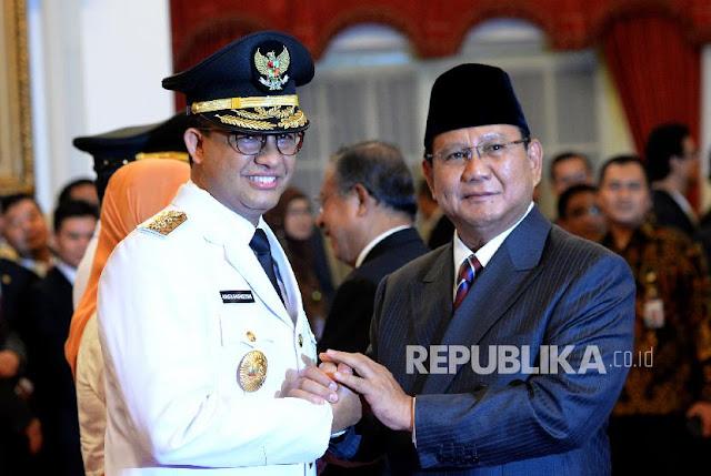 Pilpres 2019, Prabowo Disebut akan Gandeng Anies Baswedan