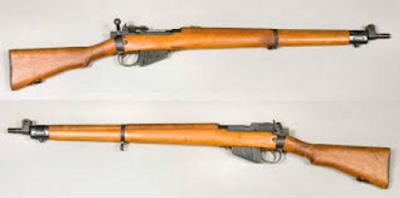 Lee Enfield Rifle .303 Mark-4