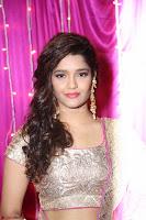 Ritika Sing in Golden Pink Choli Ghagra Cute Actress Ritika Sing ~  004.JPG