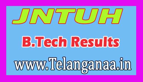 Jawaharlal Nehru Technological University of Hyderabad JNTUH B.Tech I Year Supply R15 Result 2016 Download
