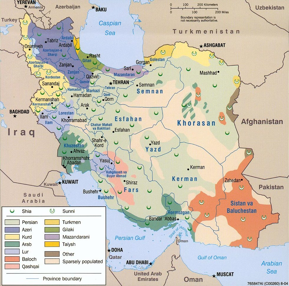 Iran's religion and ethnicity