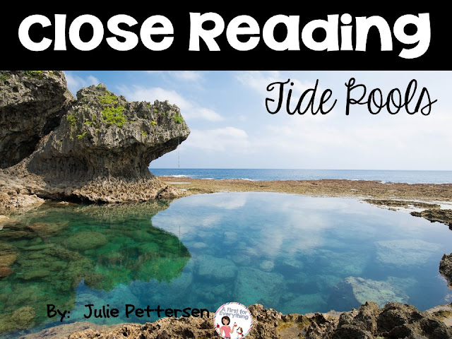 Close reading:  Tide Pools