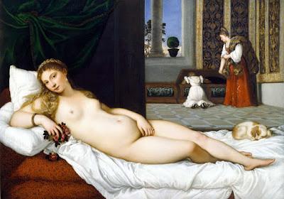 Titien - Venus d'Urbino,1538.
