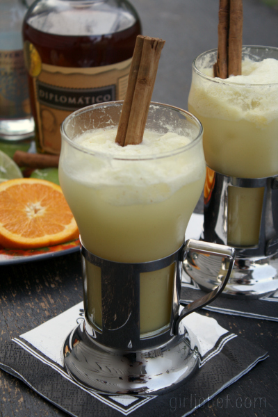 Tropical Rum Punch | www.girlichef.com