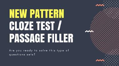 New Pattern Cloze Test Pratice Set for IBPS PO and Clerk