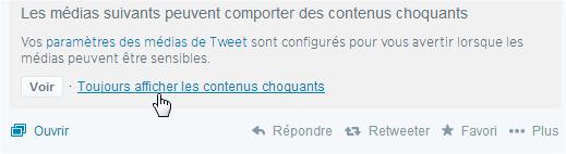 Twitter Afficher Le Contenu Sensible Ou Choquant Et Comment Le