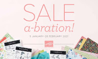 January 2021 Sale-a-Bration!