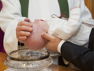 Image of infant baptism