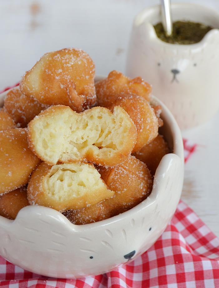 Buñuelos dulces de limon