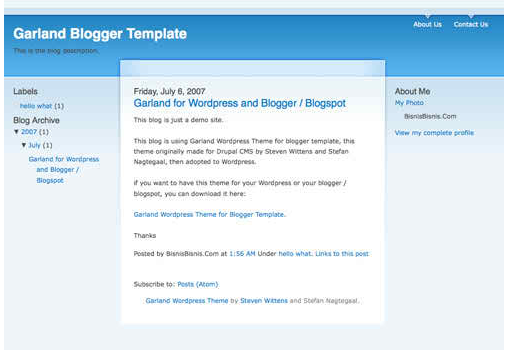 best free blogger templatae