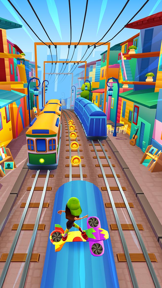 download Subway Surfers Mod Apk terbaru