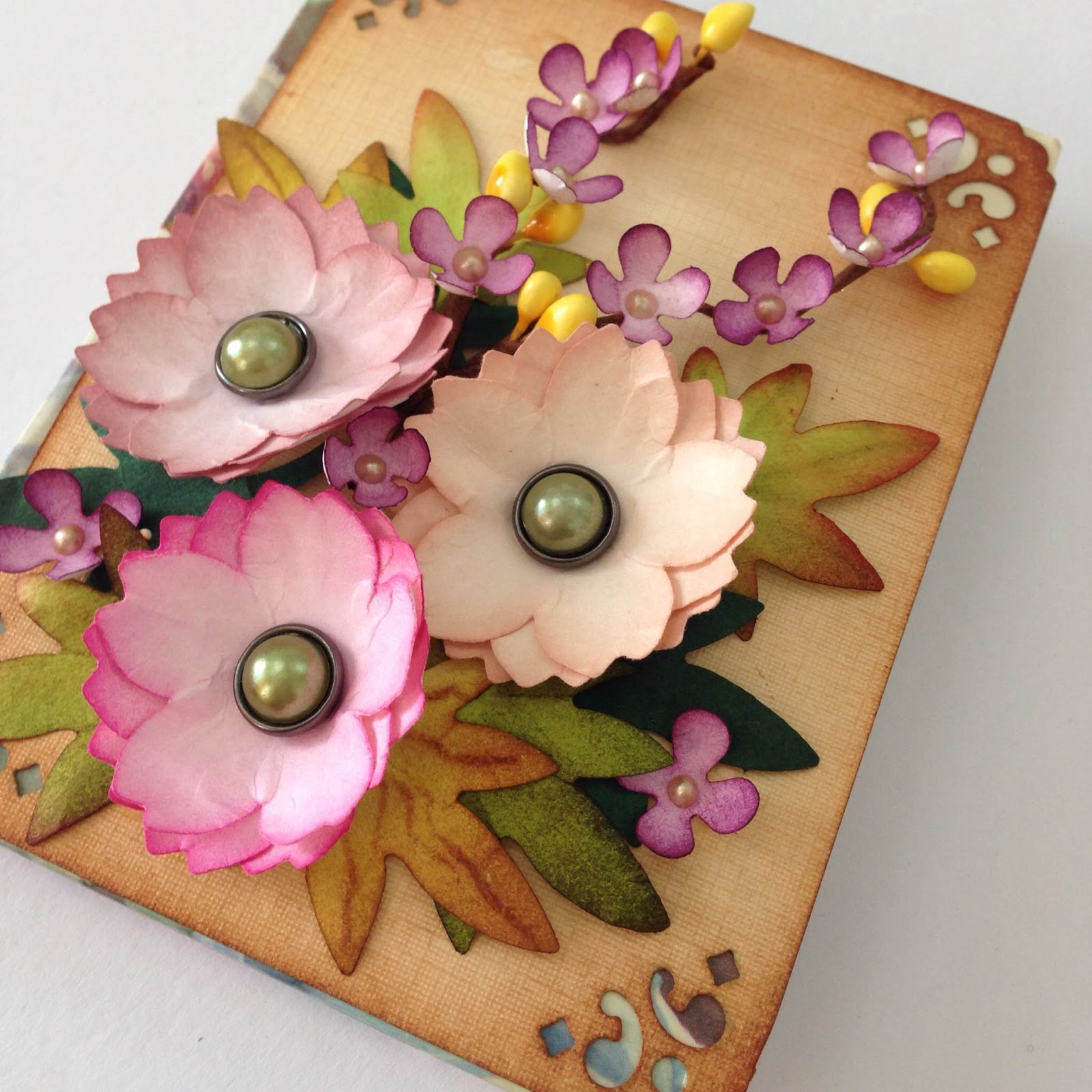 A4 Paper Flower Arts And Crafts To Make