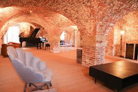 The piano cellar at Finchcocks