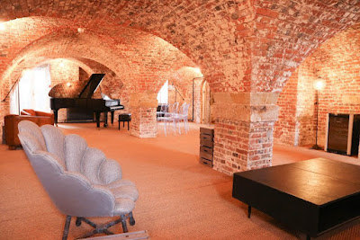 The piano cellar at Finchcocks