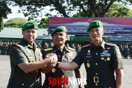 Pangdam XIV/HSN, Pimpin Upacara Alih Kodal 4 Kodim Jajaran Korem 142/TTG ke Korem 141/Tp