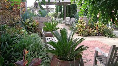 El jardín sensorial del R.Talbot Rehabilitation Centre