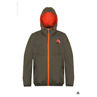 JAKET GUNUNG HSK HASKEY GREEN MAKALU HIJAU MOSS Waterproof Windproof