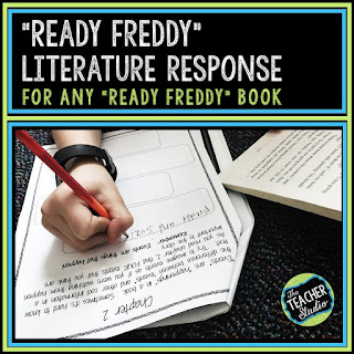 Reading chapter books can be a challenge for struggling readers.  Using Ready Freddy books as a reading intervention tool has been so suuccessful for my below grade level readers!  Reading interention lesson plans, reading intervention activities, second grade reading, third grade reading, fourth grade reading