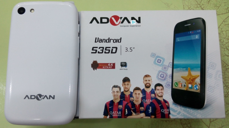Cara Flash Advan Vandroid S35D