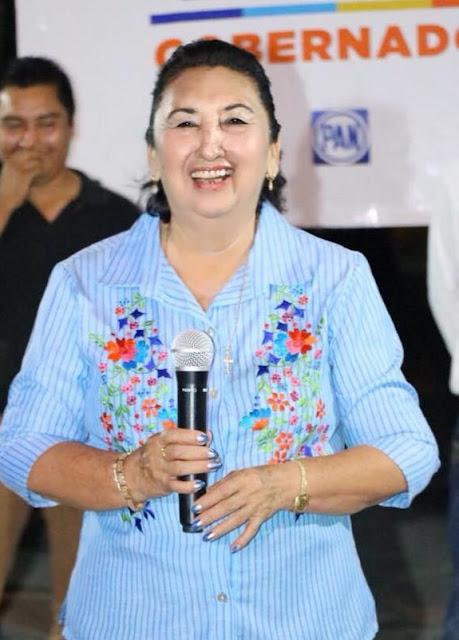 candidata de acción nacional cacalchen