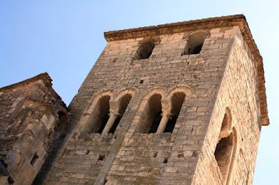 Campanario del Monasterio de Sant Sebastia dels Gorgs
