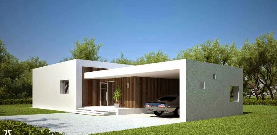 Casas modernas for Casa minimalista blog