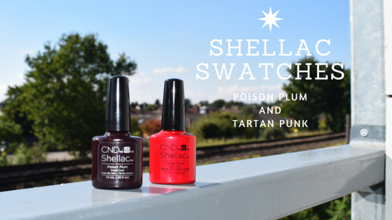 Shellac Swatches