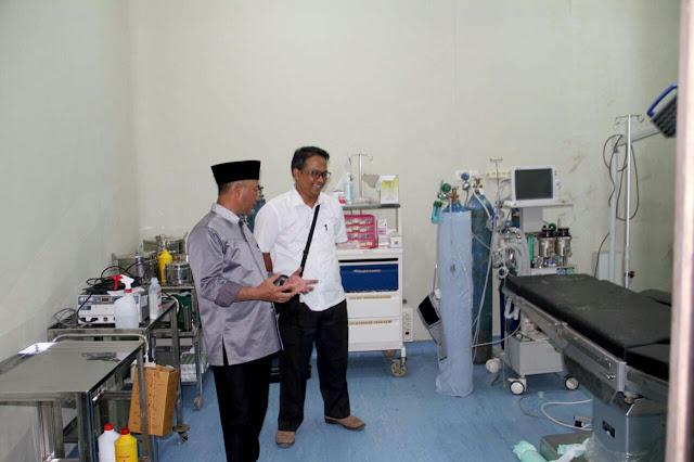 Peralatan RSUD Bayung Lencir dan Puskesmas Tungkal Jaya Segera Dilengkapi