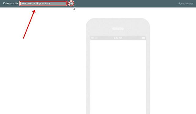 Cara Melihat Tampilan Blog Versi Mobile Di PC/Laptop Terbaru