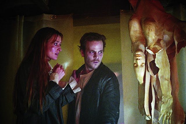 Stephen Dorff doesn't care what this woman has to say. He is just amazed that you can fold someone in half and stuff them into a jar