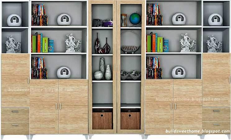 ตู้หนังสือและชั้นวางของสวยๆ ราคาถูกใจเพราะออกแบบเอง