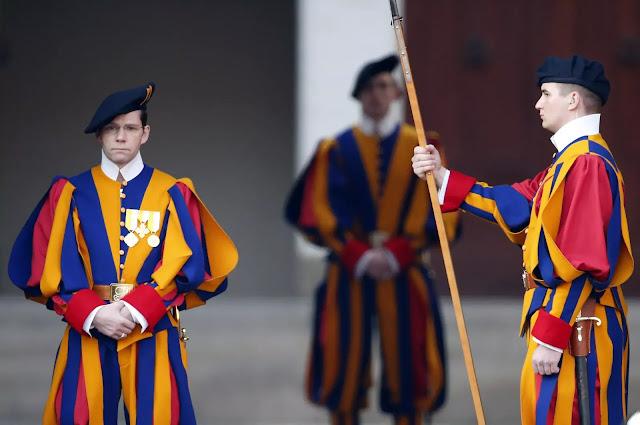 13 fakta tentang Swiss Guard