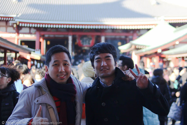 Renz Cheng and Ryo in Japan