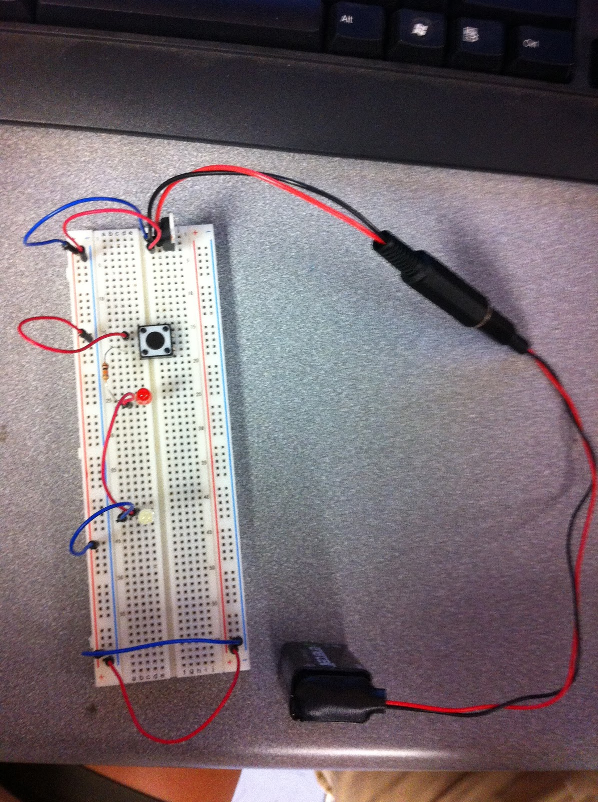 Fall 2012 Lab Parts Kit Breadboard Basic Electronics And Switches
