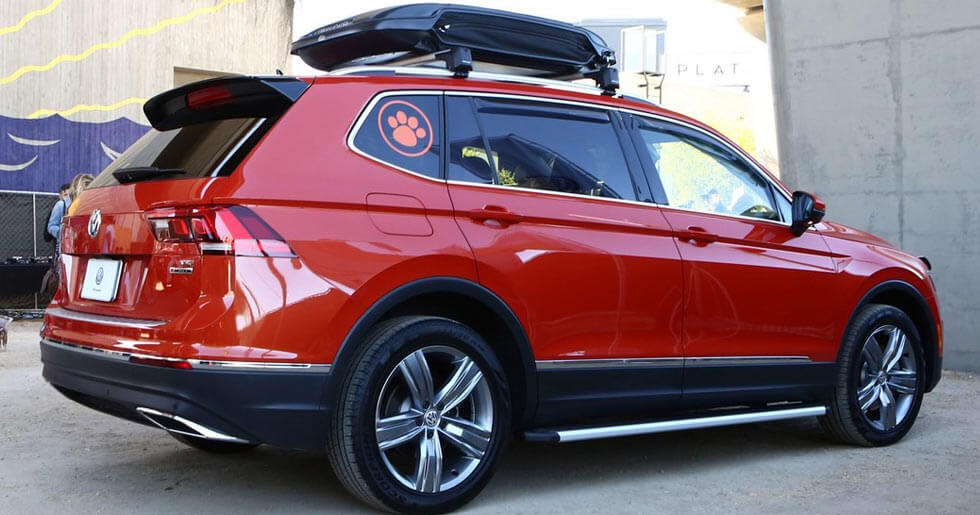 Car Brands Starting With P >> VW Tiguan Accessories Concept Is For The Dogs