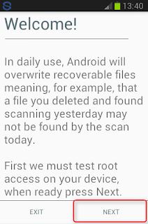 Mengembalikan File Yang Terhapus Pada Android