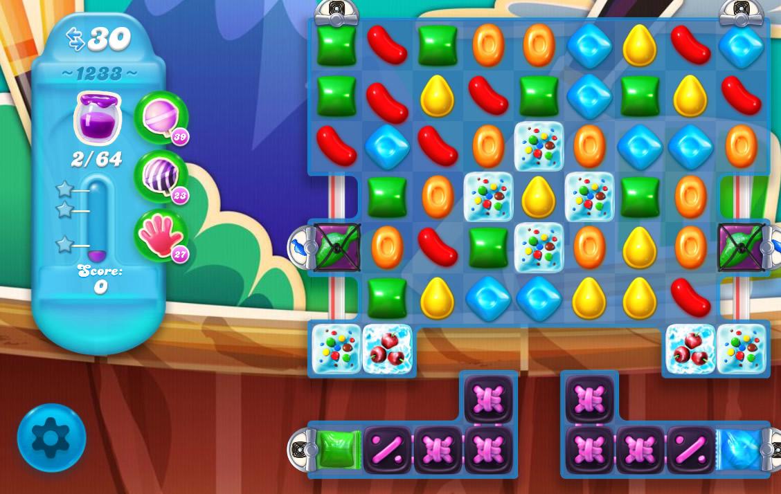 Candy Crush Soda Saga level 1233