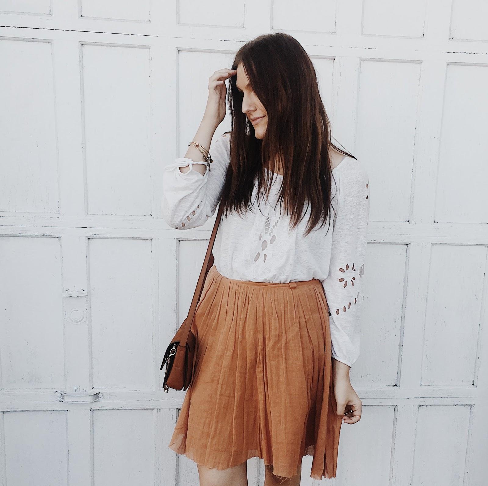 social media validation sabo skirt outfit