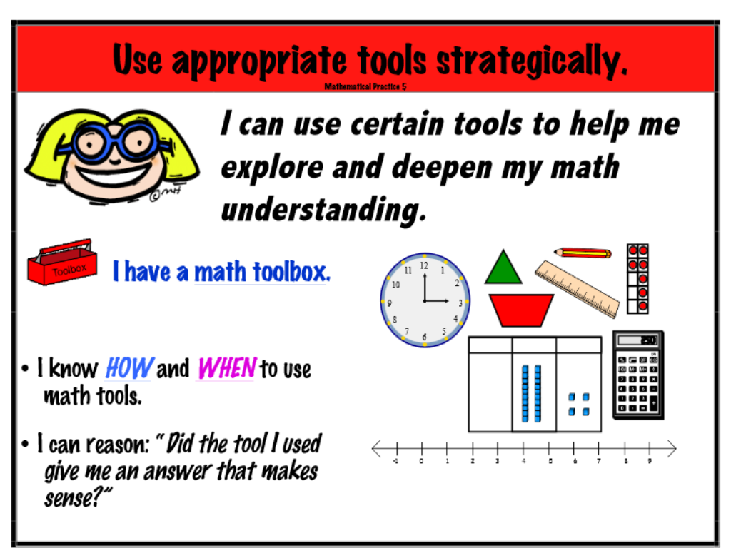 MP5+Use+appropriate+tools  Th Grade Math Problem Solving Examples on
