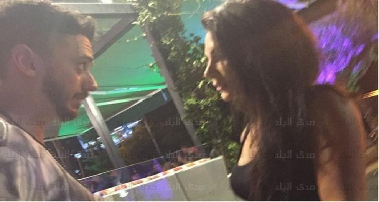 فيديو مسرب من كاميرا المراقبة يصور واقعة تحرش سعد لمجرد بغرفة الفندق